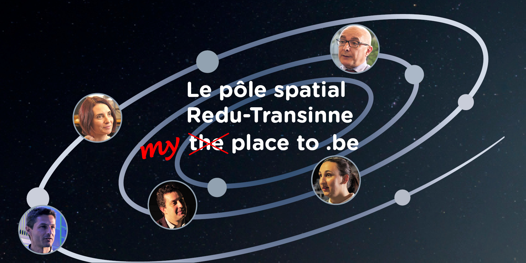 Le pôle spatial Redu-Transinne : my place to be !