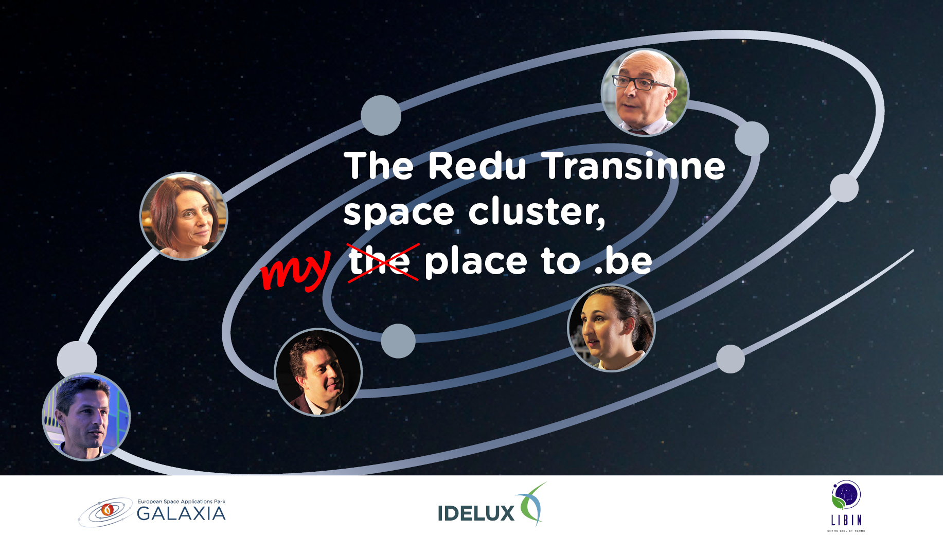 THE Redu Transinne space cluster : the (my) place to be !